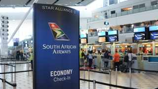 South Africa - Cape Town - 14 November 2019 - South African Airlines check-in desk at Cape Town International Airport. South African Airlines (SAA) said on Thursday it would offer unions a revised wage increase in a bid to avert a strike that has forced the airline to cancel domestic and international flights scheduled for Friday. Picture: Henk Kruger/African News Agency (ANA)