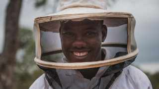 Ronnie Makukule is the head of the Bee Project. Picture: Beautiful News South Africa