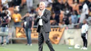 Kaizer Chiefs coach Ernst Middendorp says the Wits players want to finish on a high. Picture: Muzi Ntombela/BackpagePix