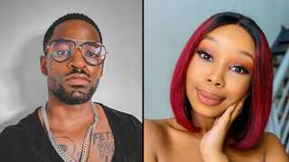 Prince Kaybee and Candice Modiselle. Picture: Instagram