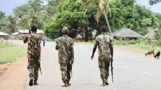 The Mozambique army is fighting Islamist militants in the province of Cabo Delgado. Picture: African News Agency (ANA) Archives