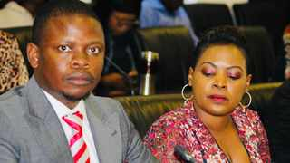 Enlightened Christian Gathering (ECG) church leader Shepherd Bushiri, seated next to his wife Mary. File photo: Jonisayi Maromo / ANA