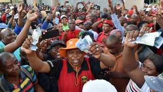 Members of the South African Municipal Workers' Union (Samwu) and workers at Rand Water are downing tools on an indefinite protected strike from Tuesday File Picture: Oupa Mokoena/African News Agency (ANA)