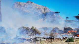 Friends of Table Mountain (FoTM) chairperson Andy Davies said more needed to be done to prevent these fires. Picture: Sisonke Mlamla/Cape Argus