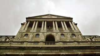 The Bank of England in central London. File Image: IOL