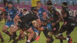 You could hear the disappointment and even irritation in Sharks coach Sean Everitt's voice as he tried to explain how his team went down 41-14 to the Bulls. Photo: Christiaan Kotze/BackpagePix