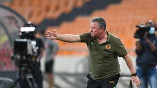 Kaizer Chiefs coach Gavin Hunt says their league defeat against Cape Town City was frustrating to watch. Picture: Sydney Mahlangu/BackpagePix