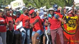 SAMWU's May Day march, on May 1, started at Keizersgracht Street, in Cape Town. Picture: Tracey Adams/African News Agency (ANA)