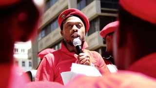 Dr Mbuyiseni Ndlozi has apologised for a tweet posted last week in which he defended his members' behaviour. Picture: Puleng Nguxe