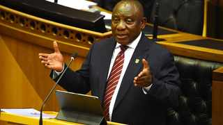 President Cyril Ramaphosa addresses members of Parliament in a Joint sitting about the Economic recovery plan. Picture: Phando Jikelo/African News Agency (ANA)