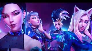 League of Legends virtual group K/DA broke YouTube records and charted on Billboard's world lists.