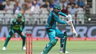 In-form batsman Mohammad Hafeez and struggling opener Fakhar Zaman are absentees from the Pakistan squad named by selectors Sunday for the T20 international series against South Africa next month. Photo: Ryan Wilkisky/BackpagePix