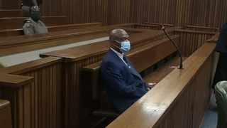 Former crime intelligence boss Richard Mdluli in court. Picture: Zelda Venter