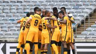 Kaizer Chiefs and Mamelodi Sundowns are on different sides of the coin when it comes to their league campaign. But both teams will be hoping to kick off their last lap of the season on a high note. Photo: Sydney Mahlangu/BackpagePix