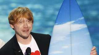 Rupert Grint has joined Instagram to show off the first photo of his baby, as he also revealed the tot's unique moniker. Picture: Reuters