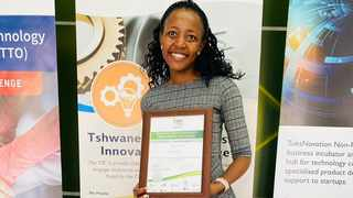 Unisa student Pertunia Ndou has found a solution to the food waste problem at dumping sites. Picture: Supplied