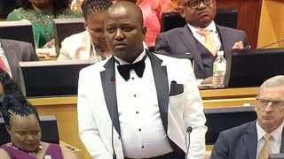 ANC MP Boy Mamabolo at the State of the Nation Address (SONA). Picture: Screengrab/YouTube/Parliament