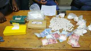 Cocaine and money found in Milnerton. Photo: South African Police Service (SAPS)