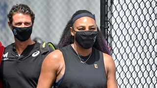 Serena Williams believes the withdrawal of some of the world's top tennis players from this year's U.S. Open amid the Covid-19 pandemic will not take the shine off a potential record-equalling 24th Grand Slam title for her. Photo: Timothy D. Easley/AP Photo