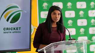 Kugandrie Govender, Cricket SA's acting chief executive,s was suspended on Sunday. Photo: Samuel Shivambu/BackpagePix