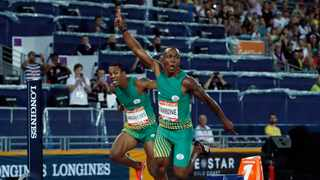 Akani Simbine won the gold medal at the Commonwealth Games. Picture: Paul Childs/Reuters via ANA