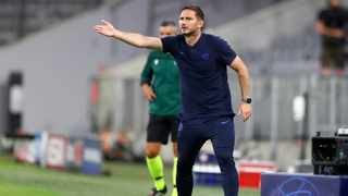 Chelsea manager Frank Lampard described the rebuild of his team as a work in progress after they crashed out of the Champions League last-16 following a 7-1 aggregate defeat by Germany's Bayern Munich. Photo: Matthias Schrader/AP