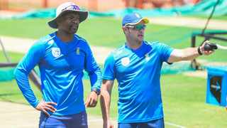 Proteas coach Mark Boucher and assistant Enoch Nkwe want the Proteas to take ownership and responsibility for their team. Picture: Christiaan Kotze/BackpagePix