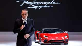 Lamborghini CEO Stefano Domenicali. File picture: Denis Balibouse / Reuters.