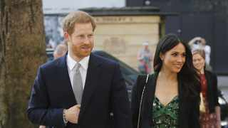 Britain's Prince Harry and Meghan Markle arrive to attend a reception hosted by Malcolm Turnbull, Prime Minister of Australia and his wife Lucy Turnbull at Australia House in London, Saturday, April 21, 2018, celebrating the forthcoming Invictus Games Sydney 2018. Picture: AP Photo/Alastair