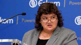 Former minister Lynn Brown has been accused of interfering with matters relating to the Eskom board. Picture: Simphiwe Mbokazi