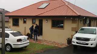 The Hawks raid a house belonging to a service provider linked to an alleged R700m tender fraud corruption probe at the eThekwini Municipality's Water and Sanitation department. Eighteen properties belonging to unit employees at different levels and service providers were targeted. Picture: Motshwari Mofokeng / African News Agency / ANA