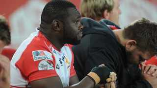 Sti Sithole on the Lions bench during the second half at the Currie Cup Derby against the Blue Bulls in 2019. Photo: Karen Sandison/African News Agency (ANA)