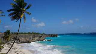 Bottom Bay in Barbados. The Caribbean island is relatively easy on the wallet, with easy-to-use public vans to beaches around the island.