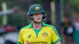 Steve Smith of Australia during game 2 of the 2020 Momentum One Day International Series between South Africa and Australia at Mangaung Oval on 4 March 2020 © Frikkie Kapp/BackpagePix