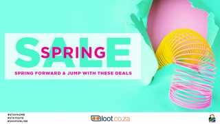 Online store loot.co.za's Spring Sale has some awesome deals with up to 75% off.