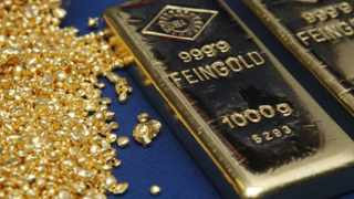 Gold surged to its highest since 2013 as rising tensions in the Middle East stoked demand for havens, with Goldman Sachs Group seeing more room to run. Photo: Reuters
