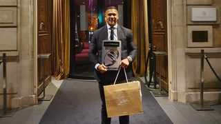 Cheslin Kolbe bagged the World Player of the Year title at the French rugby 'Oscars', the Midi Olympique #OscarsMidol awards, which took place in Paris on Monday night. Photo: @Cheslin_Kolbe11 via Twitter