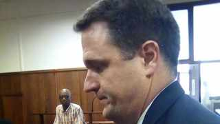 EnviroServe CEO Dean Thompson in the dock on Tuesday. Picture: Desiree Erasmus/ANA