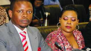 Enlightened Christian Gathering (ECG) church leader Shepherd Bushiri, seated next to his wife Mary. File picture: Jonisayi Maromo/African News Agency (ANA)