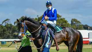 Malmoos faced formidable foes in the Grade 1 Cape Guineas race, presented by Cape Racing. Chase Liebenberg