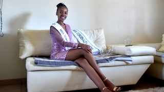 Miss Soweto 2020 Thobile Steyn at her home in Kibler Park. Steyn was crowned over the past weekend during the 41st annual Miss Soweto. Picture: Itumeleng English/African news Agency(ANA)