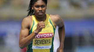 Caster Semenya will target a sub-two minute race in the women's 800 metres final at this weekend's SA Senior Championships in Port Elizabeth.