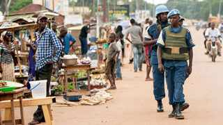 Peacekeepers had been protecting the town of Bangassou, but it fell to rebel fighters on Sunday.