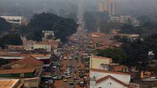 A general view shows a part of the capital Bangui, Central African Republic. File picture: Siegfried Modola/Reuters