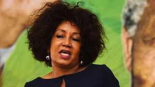 SOUTH AFRICA - Cape Town - 01 March 2020 - ANC NEC member Lindiwe Sisulu delivering a political lecture at Dullar Omar Region in Khayelitsha .photograph:Phando Jikelo/African News Agency(ANA)