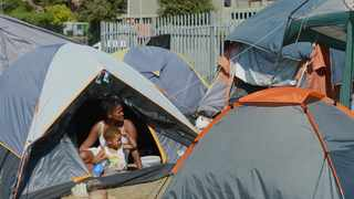 The Western Cape High Court has granted the City of Cape Town an urgent interdict against the invaders of land in District Six, which has been earmarked for restitution. Picture: Armand Hough African News Agency (ANA)