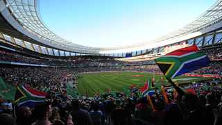 General view of fans at Cape Town Stadium during day 3 of the 2019 Cape Town Sevens at Cape Town Stadium. Picture: Ryan Wilkisky/BackpagePix