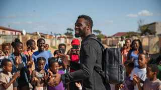 South African rugby captain Siya Kolisi, in collaboration with local lifestyle brand Freedom of Movement (FOM), will launch a new limited-edition black shoe to uplift communities by supporting sport infrastructure projects. Photo supplied