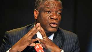Pioneering Democratic Republic of Congo doctor Denis Mukwege, who founded a clinic for rape victims in the DRC, gives a press conference dedicated to sexual violence in the East of the country. Picture: JUNIOR D KANNAH