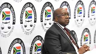 Minister Nene told the Zondo commission that former president Jacob Zuma had fabricated his supposed deployment to the Brics Bank. Picture: Itumeleng English/African News Agency (ANA)